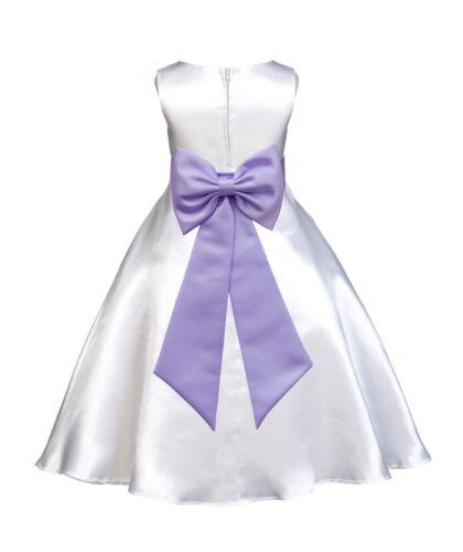 Flower Girl Dress Communion Pageant Wedding Easter Graduation Bridesmaid Holiday