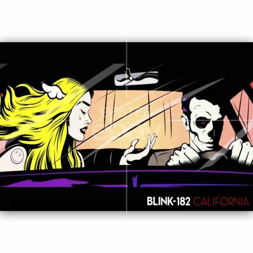Blink 182 California Custom New Silk Poster Wall Decor