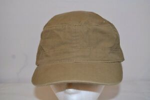 dfef4ebfca4 Image is loading Calvin-Crest-Olive-Green-Army-Cap-Fitted-Back-