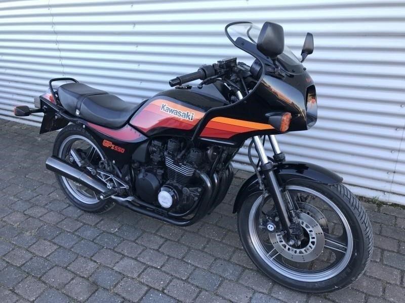 Kawasaki, GPZ 550, ccm
