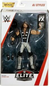 MATTEL-WWE-TOP-PICKS-ELITE-COLLECTION-ACTION-FIGURES-AJ-STYLES-NEW-BOXED
