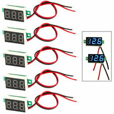 5 Pcs Dc 3 30v Led Panel Voltmeter Digital Display Voltage Meter High Accuracy