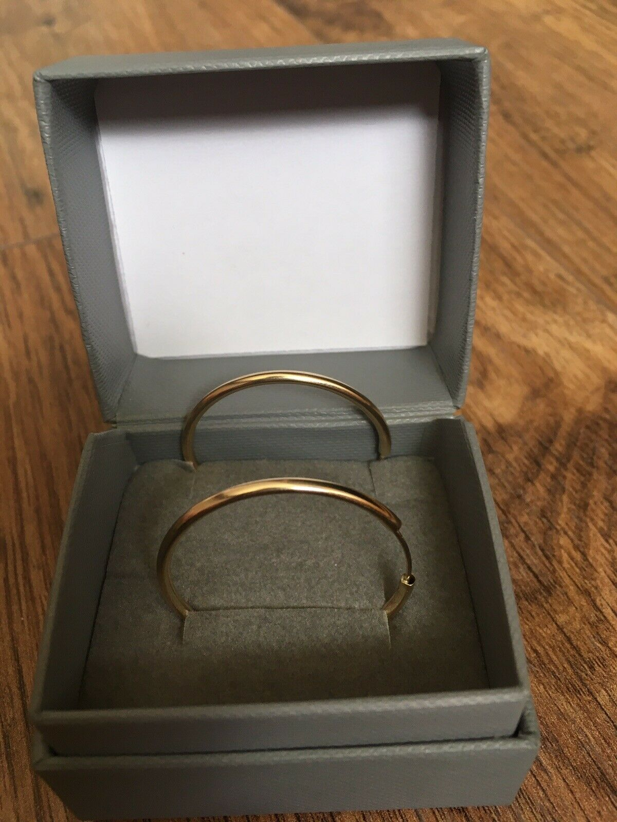 gold circle stud earrings From Argos