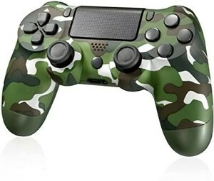 Sony PlayStation 4 Dualshock V2 Controller - Green Camouflage