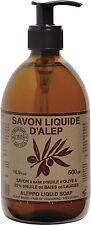 Marius Fabre Sapone di Aleppo Liquido 500ml con pompetta - Olio di Alloro 20%