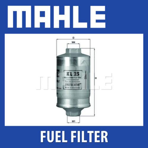 MAHLE Filtro carburante KL25 AUDI, VW /& altri