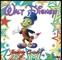 Jiminy Cricket Fridge Magnet-1 Logo 8. 4 X 4. Disney Cartoons..free Shipping