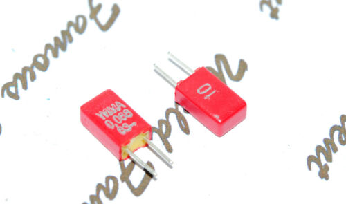 10pcs-WIMA MKS02 0.068uF 0.068µF 68nF 63V 10/% pich:2.5mm Polyester Capacitor