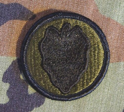 Military Patch US Army 24th Infantry Division BDU Subdued Sew-on Authentic RARE