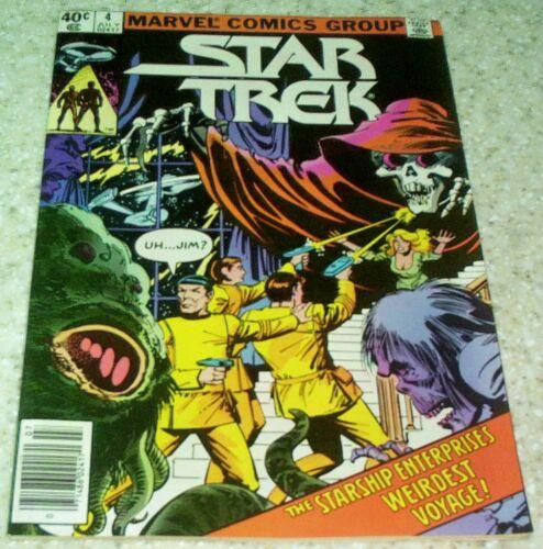 9.2 NM- Star Trek 4 1980 Unread Copy 50/% off Guide!