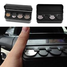 Car Interior Coin Case Storage Box Money Container Piggy Bank Holder Organizer