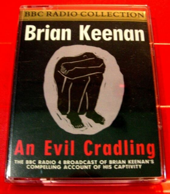 Brian Keenan Reads An Evil Cradling BBC 2-Tape Audio Book Hostage Autobiography