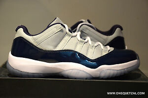 ad96e613c99 NIKE AIR JORDAN RETRO 11 GEORGETOWN 9.5 DS bred space jam concord ...