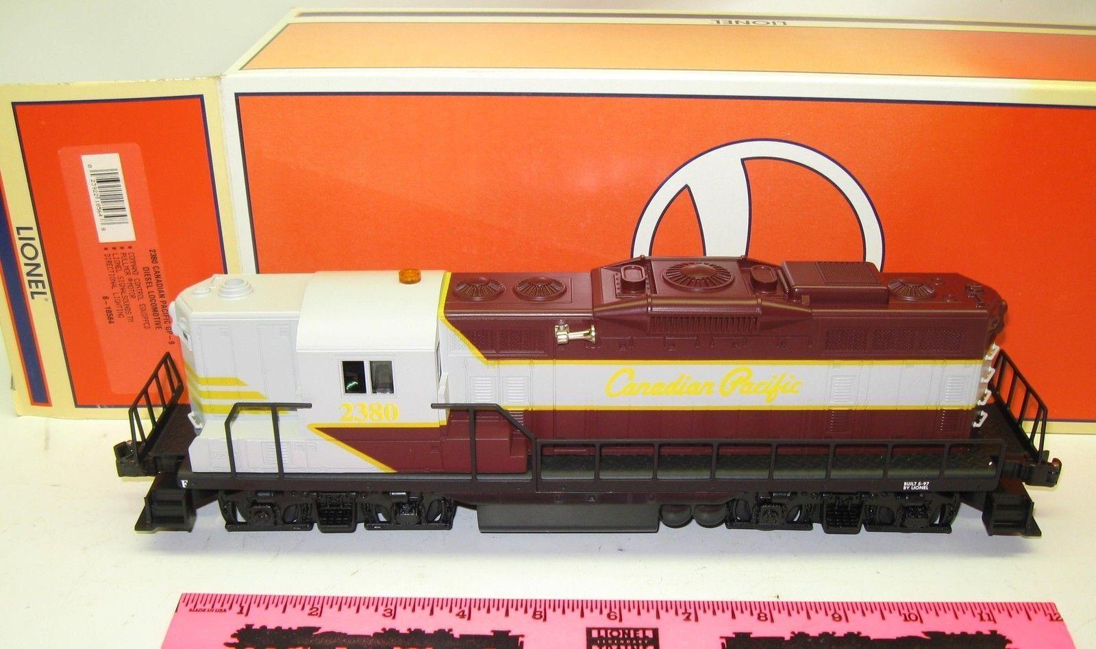 Lionel 6-18564 2380 Canadian Pacific GP-9 diesel Locomotive