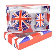 Glass Ashtray With Wind proof Lighter London Souvenir Gift Set