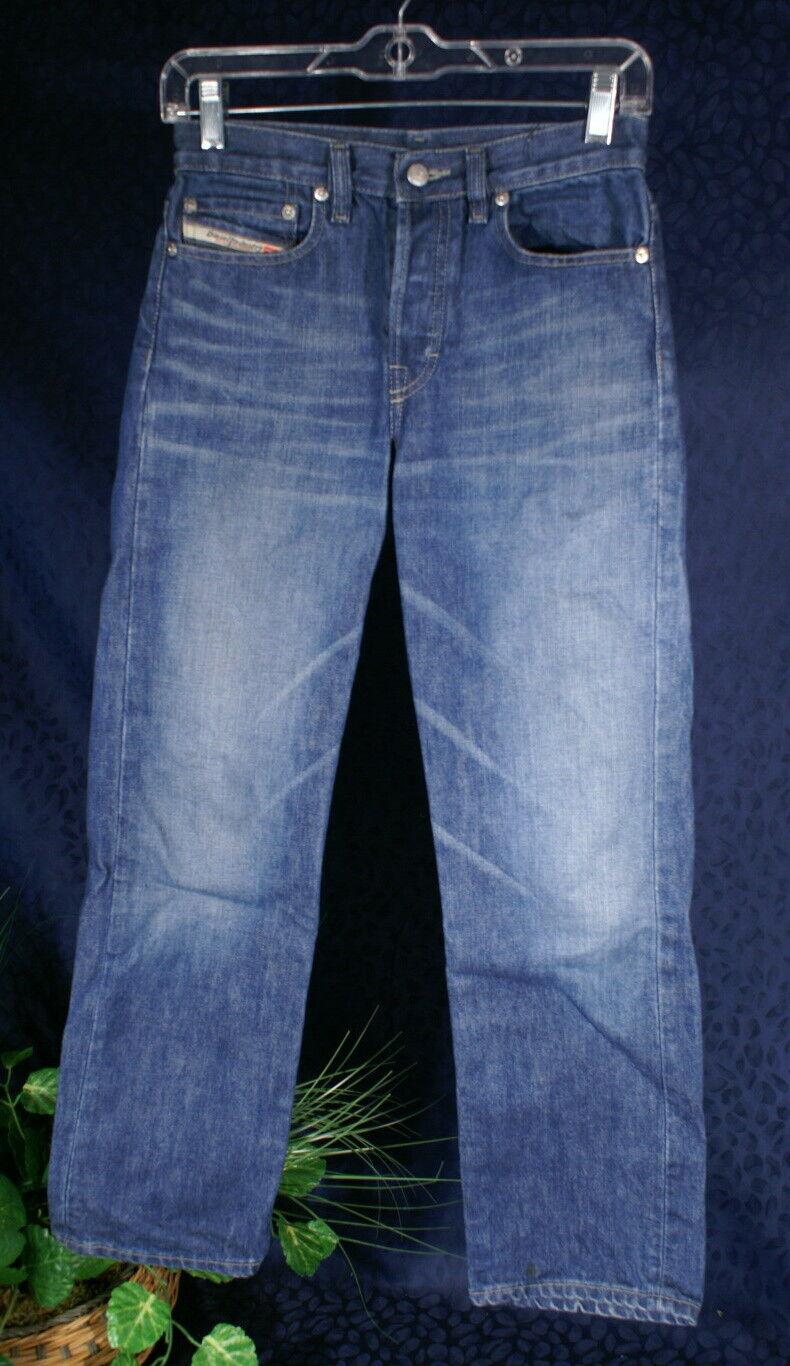 DIESEL SKINT Indigo bluee Denim Jeans Size 26