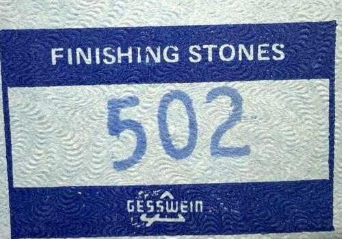 Gesswein 502 Finishing Stones Box of 12 20 Available
