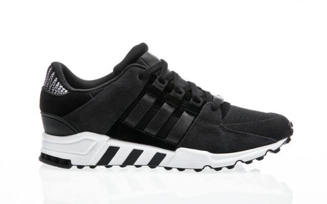 huge discount ed1a1 eb3b7 adidas Originals EQT Support RF Mesh Black Carbon White Men