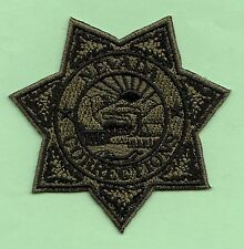 J26 * SUBDUE NEVADA CORRECTIONS OFFICER STATE POLICE SWAT PATCH FBI JAIL PRISON