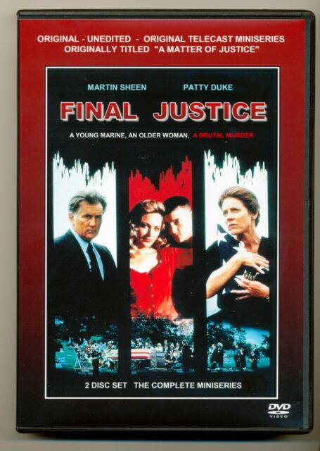 Final Justice (aka a Matter of Justice)dvd Complete 3 HR Miniseries Patty  Duke