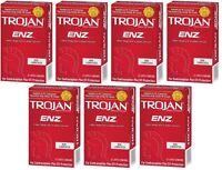 Trojan Enz Non-lubricated Condoms 7 Pack = 84 Condoms on sale