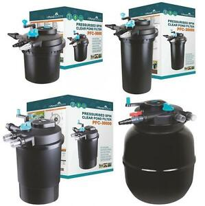 Pressurised-Koi-Pond-Filter-UV-Steriliser-Kits-All-in-One-Ponds-up-to-50000L