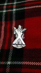TC-ST-Andrew-Cap-Badges-Glengarry-Hat-Badge-Pin-ST-Andrew-Silver-Chrome-Finish