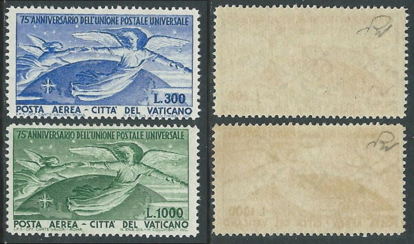 1949 Vaticano Posta Aerea Upu Mnh ** - As8
