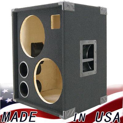 2x12 with tweeter empty bass guitar speaker cabinet black carpet bg2x12ht bc ebay. Black Bedroom Furniture Sets. Home Design Ideas