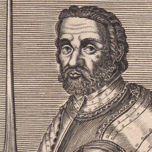 Portrait-XVIIe-Pierre-Terrail-De-Bayard-Guerres-D-Italie-bataille-d-039-Agnadel