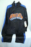 Nba York Knicks Jacket And Pants Sz 5-6 Kids Color Black,blue