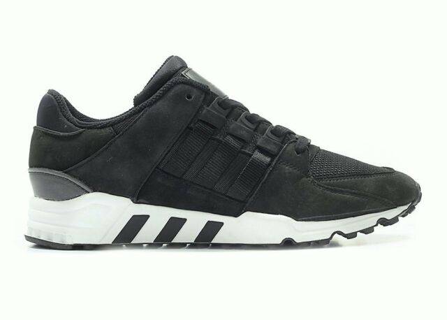 ADIDAS EQUIPMENT SUPPORT RF ADV 91 17 MENS TRAINERS NUBUCK SUEDE LEATHER BLACK