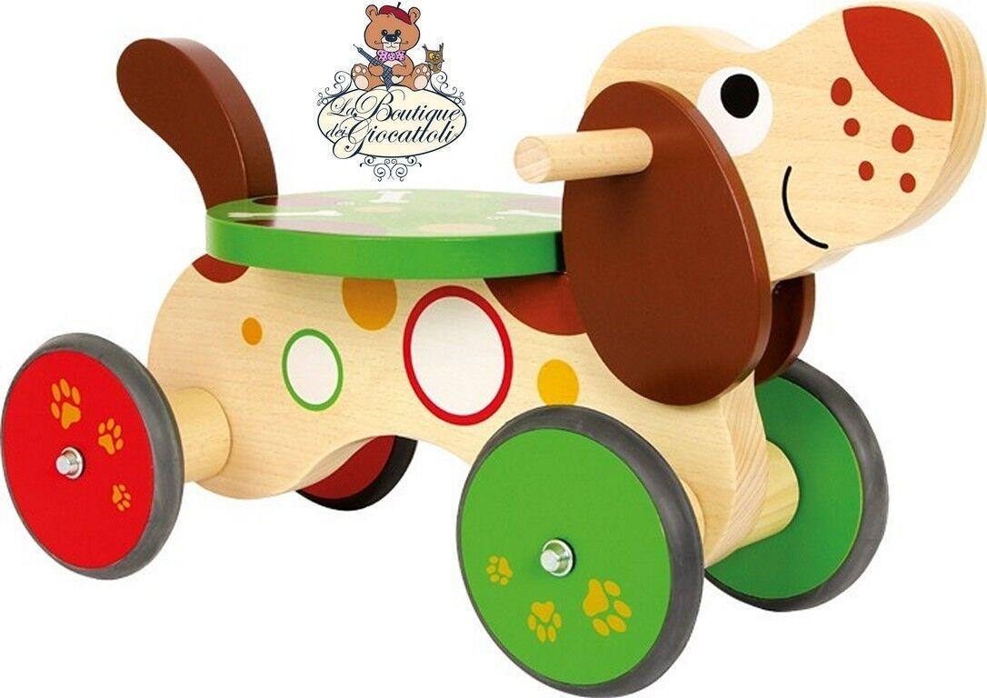 Gioco in legno - Primi passi cane bassotto