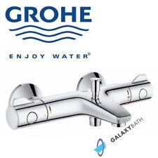 Power /& Soul Rail Kit GROHE Grohtherm 800 Thermostatic Bath Shower Mixer Bar