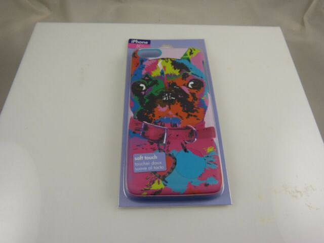 fits iPhone 5C, phone case  French bulldog soft touch cute