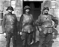 11x14 World War I Photo: Body Armor Test At Fort De La Peigney, Langres