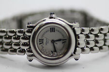 Ladies Chopard Happy Sport Stainless Steel Diamond Watch 27/8245-23