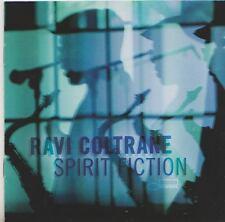 RAVI COLTRANE  CD   SPIRIT FICTION   BLUE NOTE