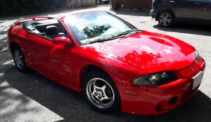 1998 Mitsubishi Eclipse Spyder GST