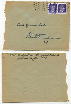 05611 - Beleg - Langenbielau 12.1.1943 Nach Hannover Um Zu Helfen, Fettiges Essen Zu Verdauen