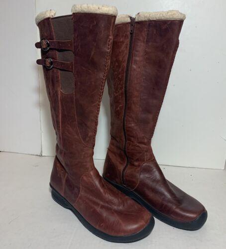 Keen Bern Baby Bern Oak Brown Womens Boots Size 11