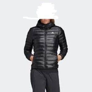adidas TERREX Varilite Hooded Down Jacket Women raw white at