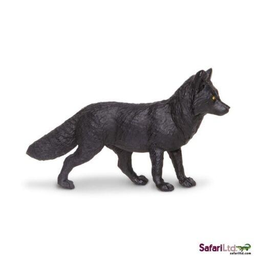 Nero Volpe 9 cm Serie Animali Selvaggi Safari Ltd 180529