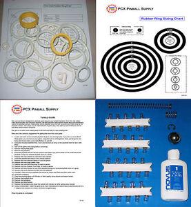1973 Bally Odds /& Evens Pinball Rubber Ring Kit