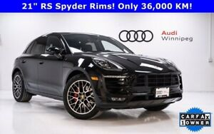 2017 Porsche Macan GTS w/Premium Package Plus *Low KM-Local Trade*