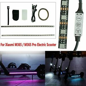 Tira-de-Luz-LED-Lampara-de-Barra-Para-Xiaomi-M365-M365-Pro-Patinete-Electrico