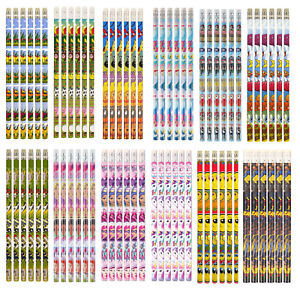 Character-Pencils-With-Eraser-Kids-Childrens-Party-Favour-Loot-Bag-Fillers