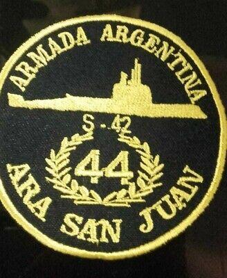 Tribute patch of ARA San Juan (S-42) of Argentine Navy ...