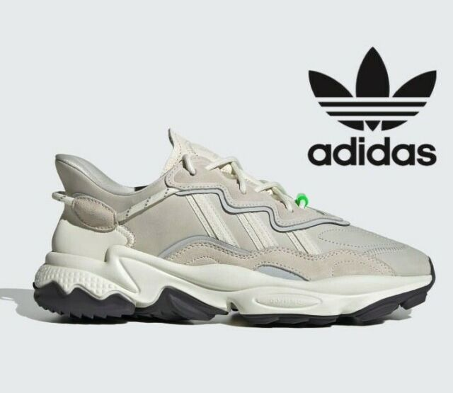 ⚫ LATEST Adidas Originals OZWEEGO TR 3D ® ( Men Size UK 6 - 12 ) OFF WHITE  GREY