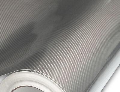 1FT x 5FT Hachi Auto Satin Black Light Metallic Vinyl Car Wrap